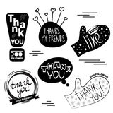 Thank you to the followers Royalty Free Stock Photo