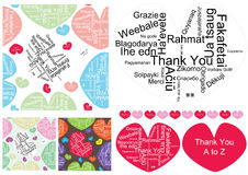 Thank You A to Z_eps Stock Photos