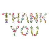 'Thank you' Royalty Free Stock Photos