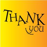 Thank You Vector Template Design Illustration - Vector vector illustration