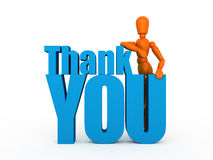 Thank you very much! Royalty Free Stock Photos