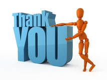 Thank you very much! Royalty Free Stock Photography