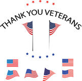 Thank you veterans. Background and holiday USA Stock Photo