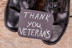 Thank you veterans concept.