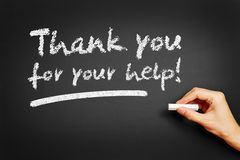Thank you for your help! Royalty Free Stock Image