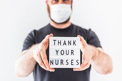 Thank your nurses concept