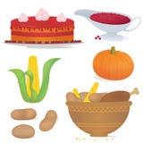 Thankfood vector illustration