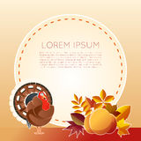 Thankgiving day banner Royalty Free Stock Photography