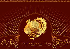 Thankgiving ornate. Stock Photography