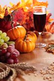 Thankgiving still life Stock Photography