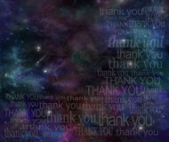 Thanking the Universe stock photos