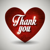 Thanks in different languages design Stock Images