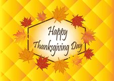 Thanks giving Day. The  logo Thanks giving Day  for sport. Holliday Stock Photography