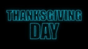Thanks giving day text, 3d rendering backdrop, computer generating, can be used for holidays festive design. Thanks giving day text, 3d rendering background Royalty Free Stock Photo