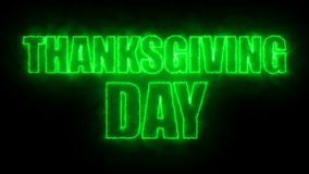 Thanks giving day text, 3d rendering backdrop, computer generating, can be used for holidays festive design. Thanks giving day text, 3d rendering background Royalty Free Stock Image
