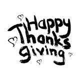 Thanks giving heart Royalty Free Stock Photo