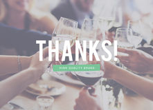 Thanks Grateful High Quality Brand Concept Stock Images