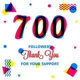 Thanks for our best followers banner, we love you in this illustration. The most awesome friend in my follower, use this banner template in your social media stock illustration