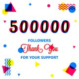 Thanks for our best followers banner, we love you in this illustration. The most awesome friend in my follower, use this banner template in your social media royalty free illustration
