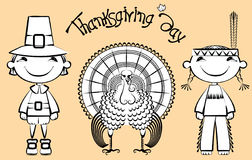 Thanksgivind day stock image