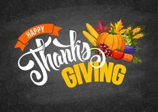 thanksgiving stock de ilustración