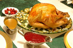 Thanksgiving. Turkey on a November Night stock images