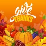 thanksgiving illustration stock