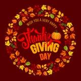 thanksgiving Stockfoto