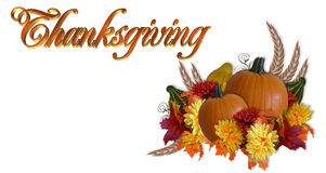 Thanksgiving Autumn Fall Background stock photography
