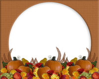 Thanksgiving Autumn Fall Border stock illustration