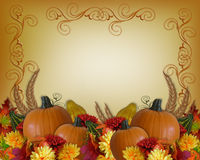 Thanksgiving Autumn Fall Border Stock Photos