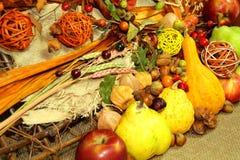 Thanksgiving backgkround Stock Photos