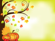 Thanksgiving background royalty free illustration