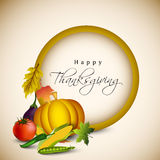 Thanksgiving background. Royalty Free Stock Photo