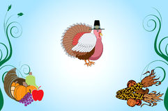Thanksgiving Background 4 Stock Image