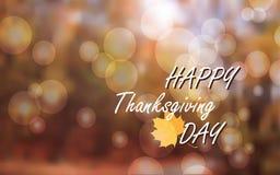 Thanksgiving background blur Royalty Free Stock Photo
