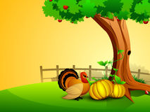 Thanksgiving background. EPS 10. Stock Photo