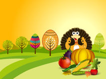 Thanksgiving background. EPS 10. Royalty Free Stock Image