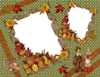 Thanksgiving Background scrapboook royalty free stock image