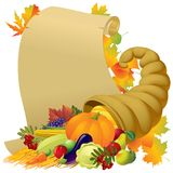Thanksgiving banner Royalty Free Stock Image
