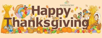 Thanksgiving-Banner Royalty Free Stock Image