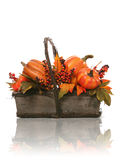 Thanksgiving Basket Stock Photography