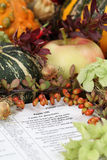 Thanksgiving Bible stock images