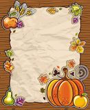 Thanksgiving card 3 Royalty Free Stock Images