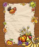 Thanksgiving card 4 Royalty Free Stock Image