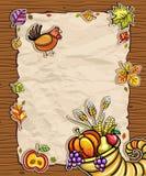Thanksgiving card 4 Royalty Free Stock Image