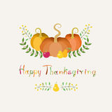 Thanksgiving Card Royalty Free Stock Images