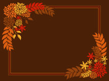 Thanksgiving Card Design Stock Photography