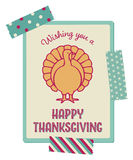 Thanksgiving card Stock Photo