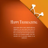 Thanksgiving card vector design with traditional Stock Photo